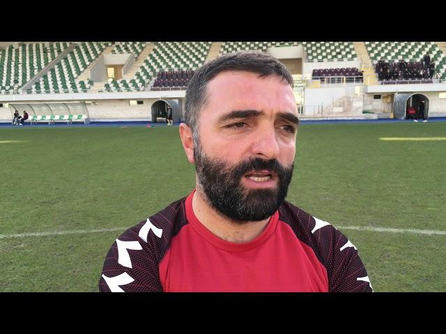 Merzifonspor Antrenörü Erdinç Yeşilceviz'den Yeni Amasyaspor Maçı Öncesi Basın Açıklaması