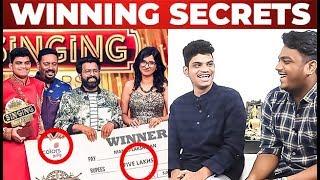 Singing Stars Manoj and Lakshman winning Secrets | Thanks to Colors Tamil