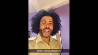 Hamilton Shots Out The Grammy Challenge Daveed Diggs Costars