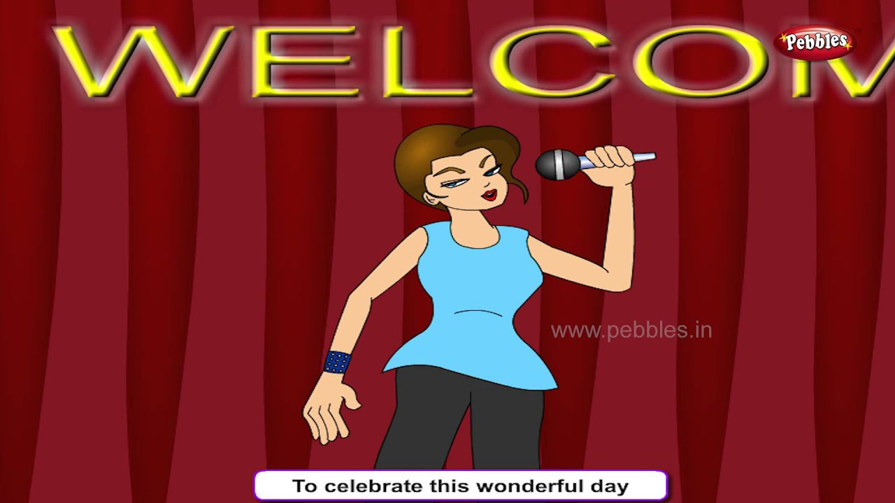 Celebration Songs For Kids HD   Welcome One And All Rhyme   Most Popular Celebration Rhymes HD