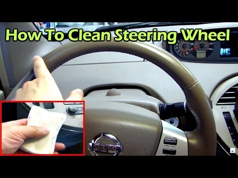 How To Clean And Restore A Leather Steering Wheel Maintenace Tips