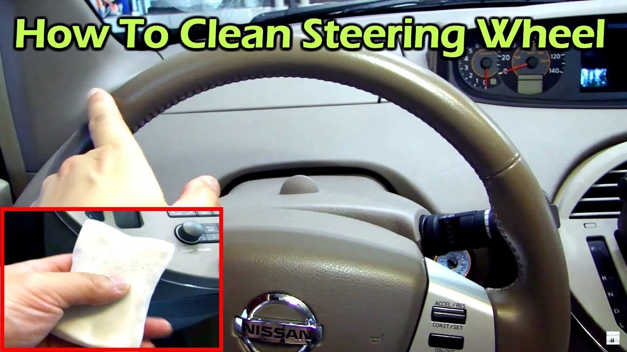 how to clean and restore your leather steering wheel youtube. Black Bedroom Furniture Sets. Home Design Ideas