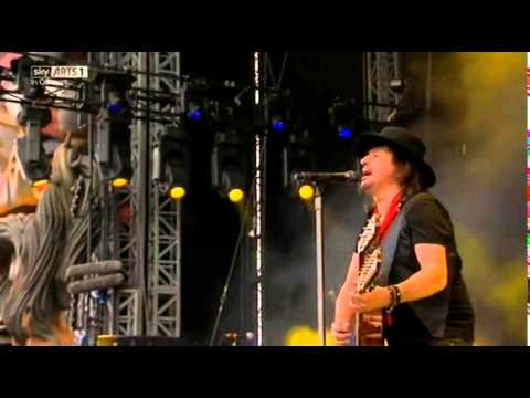 Richie Sambora - Wanted Dead or Alive - Download Festival 2014