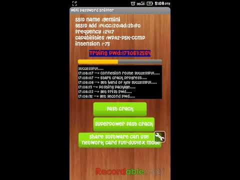 Hack wifi pass apk for android