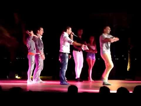 Pambos & 3 dance couples @ shows - Long Beach Salsa Festival 2014