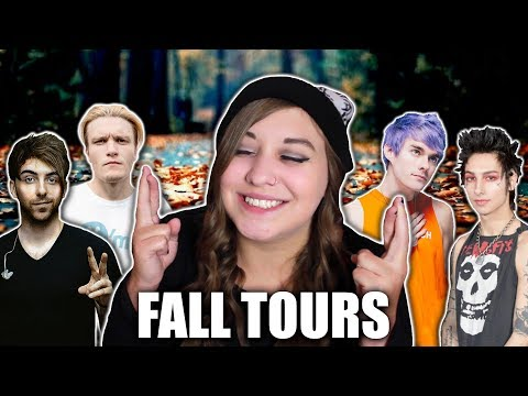 WHICH FALL TOURS AM I GOING TO?!