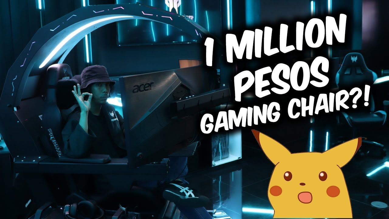 Million Peso Gaming Chair?! (May Online Contest)