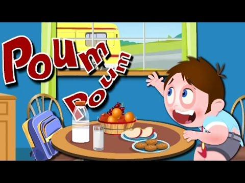 Собираемся в ШКОЛУ Развивающий Мультик игра для ДЕТЕЙ про школу детей и правила поведения по утрам