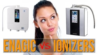How Enagic Kangen Water Machines Compare To Water Ionizers