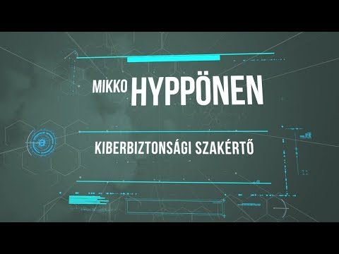 Mikko Hyppönen - The fundamental questions of Artificial Intelligence and Human Privacy