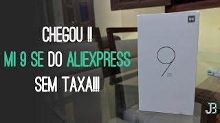 Comprei o XIAOMI MI 9 SE no ALIEXPRESS [ UNBOXING ] NÃO FUI TAXADO !!!