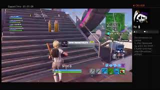 Fortnite Stream acting like a sweaty Soccer Skin