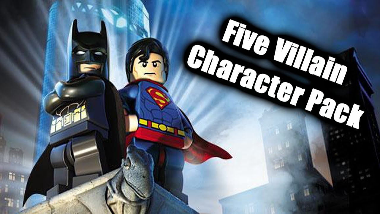 Lego Batman 2 DC Super Heroes: Five Villain Character Pack ...