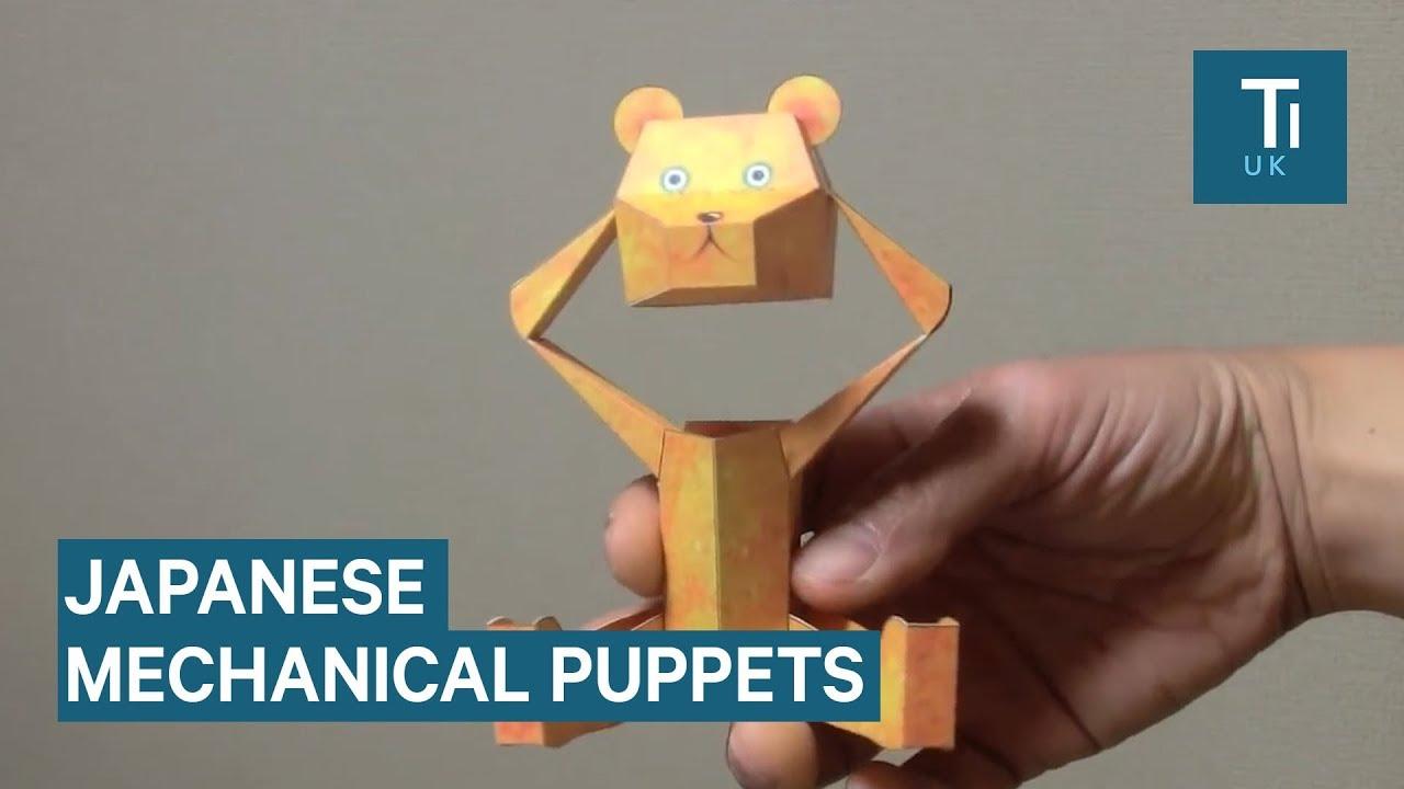 Japanese designer creates amazing paper puppets