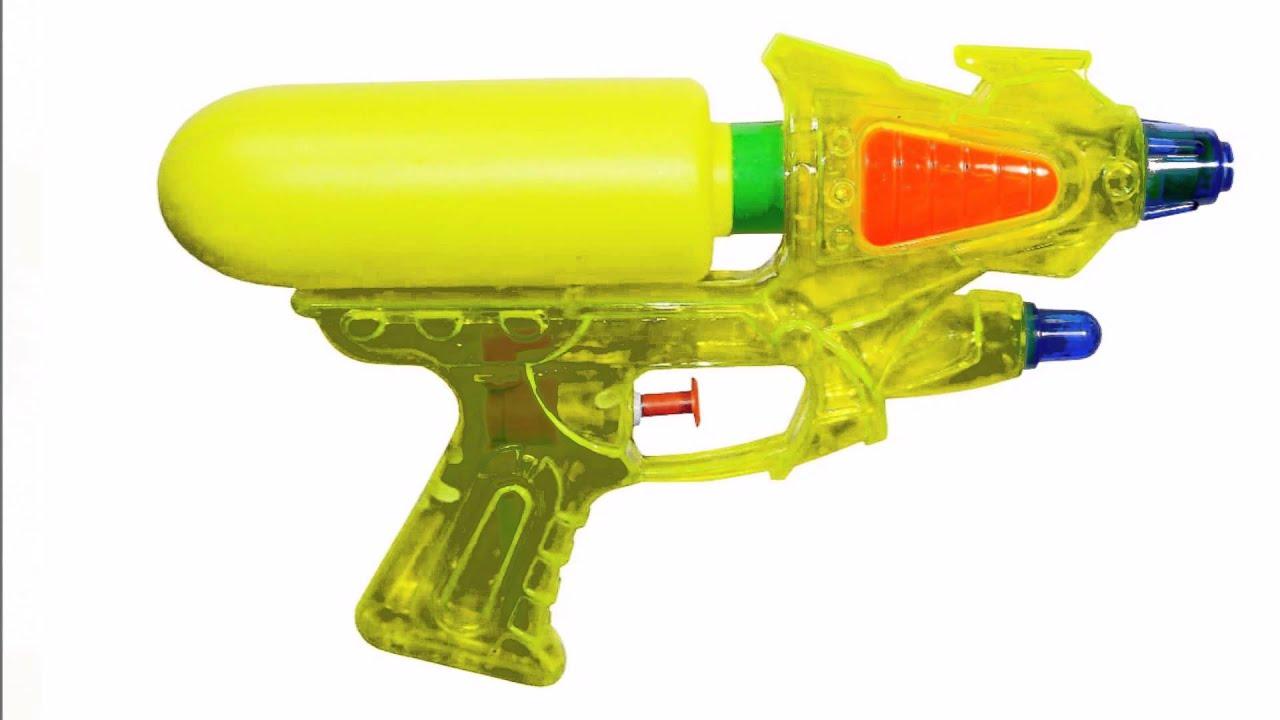 pistolets eau jouets pour les enfants youtube. Black Bedroom Furniture Sets. Home Design Ideas