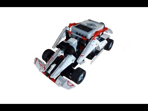 Lego Mindstorms Race Car - YouTube