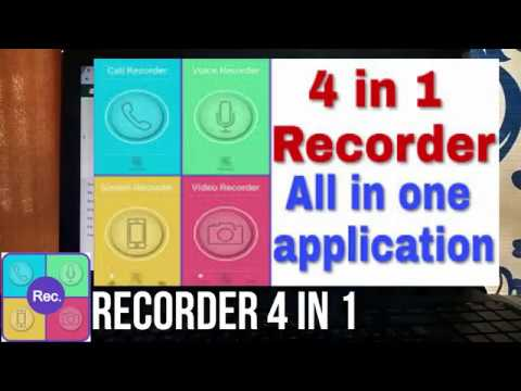 Recorder 4 in 1( Recorder with 4 amazing functions).