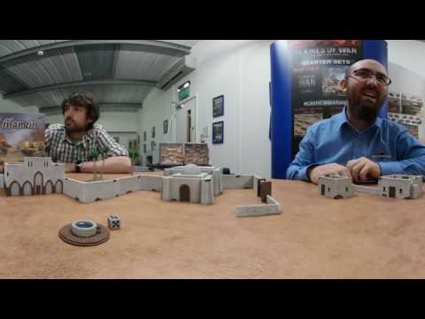 Flames of War: El Alamein is 360 degrees