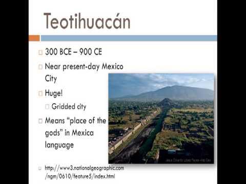 Week 6 - Historical Geography  Prehistory