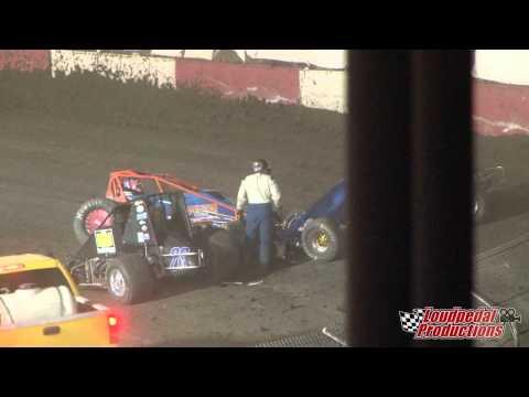 Tulare Thunderbowl Raceway 5-31-14 :: USAC West Coast 360s