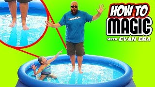 How To WALK ON WATER!