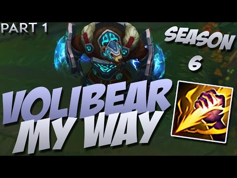 "Season 6 Volibear Jungle My way ""5.23 Preseason"""