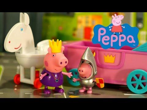 Свинка Пеппа на русском языке. Мультфильм с игрушками для Детей.