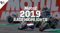 Moto2 Race Highlights |2019 #DutchGP