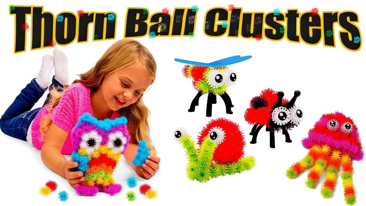 Обзор на конструктор (Thorn Ball Clusters!!!) - YouTube