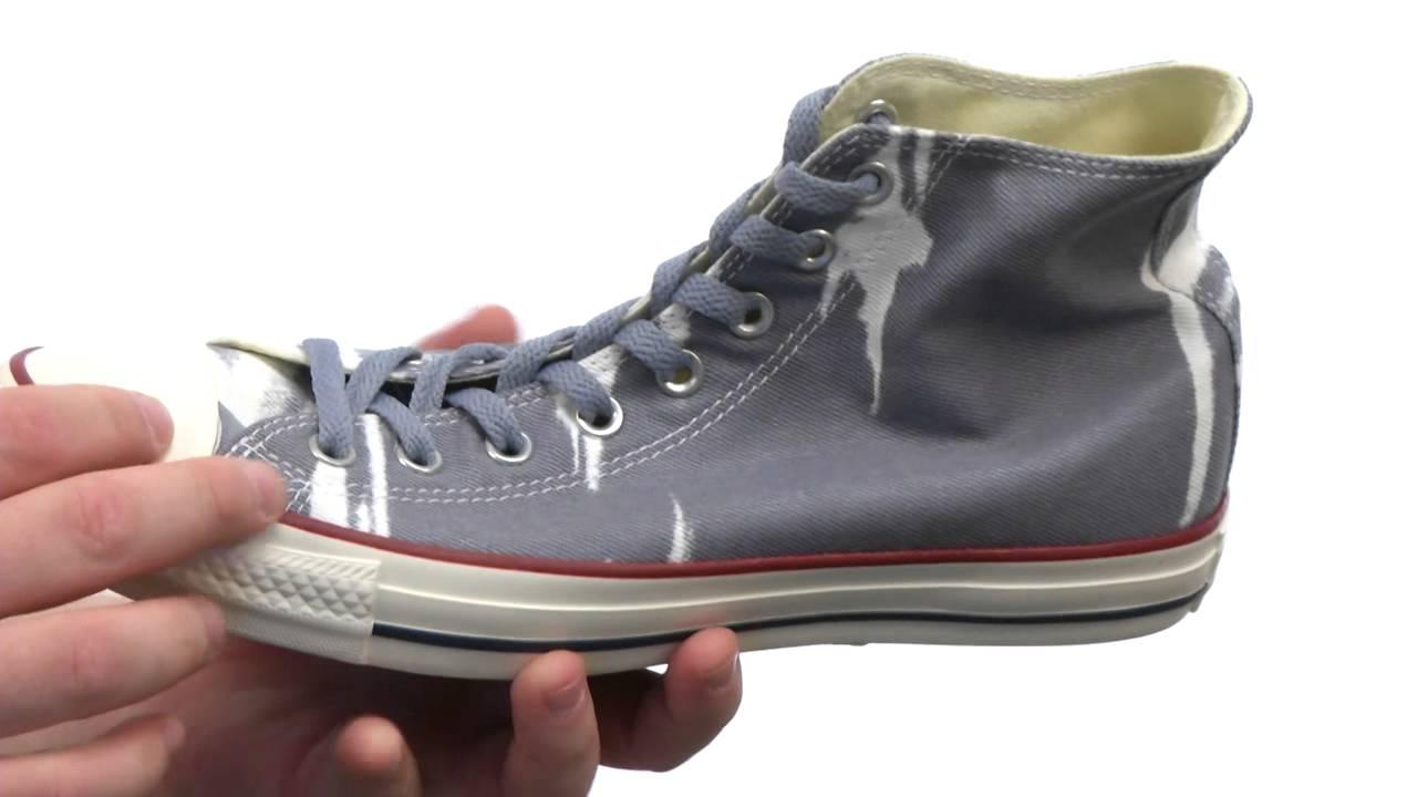 7bffe4d408f5 Converse - Chuck Taylor® All Star® Bleach Hi SKU  8261818 - YouTube