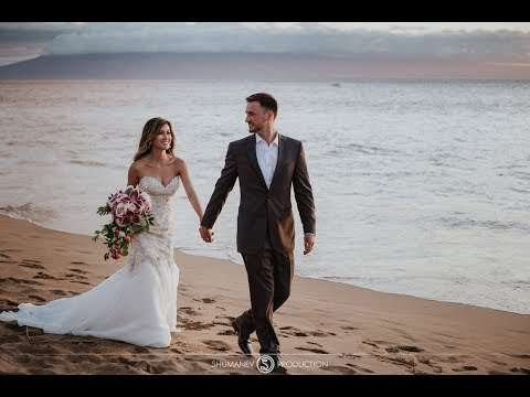 Stunning Wedding in Hawaii, The Westin Maui Resort & Spa. Overnight 4K teaser.