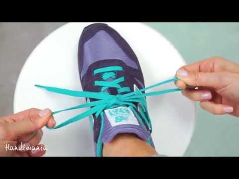 Как научить ребенка завязывать шнурки за две минуты