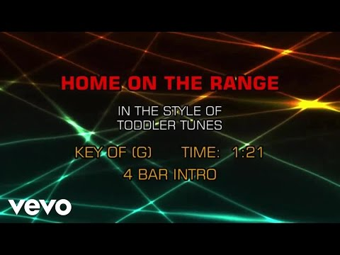 Children's Toddler Tunes - Home On The Range (Karaoke)