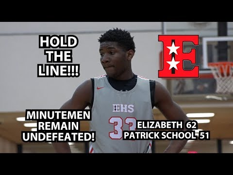 Elizabeth 62 Patrick School 51 Boys Basketball Highlights | Brenden Kelly 14 Points!
