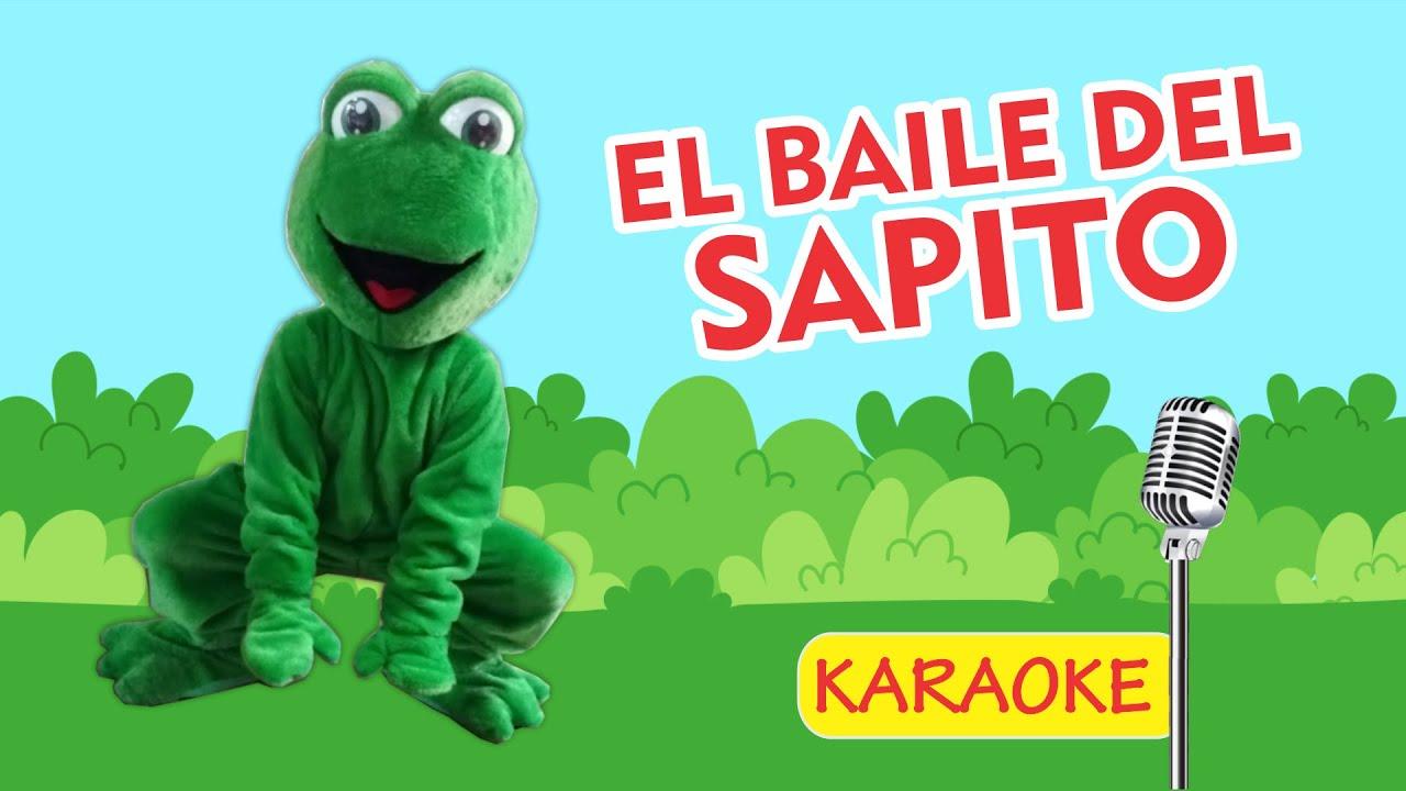 EL BAILE DEL SAPITO - KARAOKE (Video Oficial) - Payaso Chispita