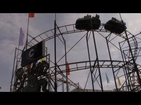 Coney Island (Cincinnati, Ohio) Cinematic Park Footage