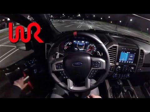 2017 Ford F-150 Raptor - POV Night Drive (Binaural Audio)