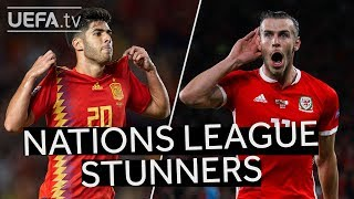 BALE, ASENSIO: 10 Great #UNL GOALS from Matchday One & Two!!