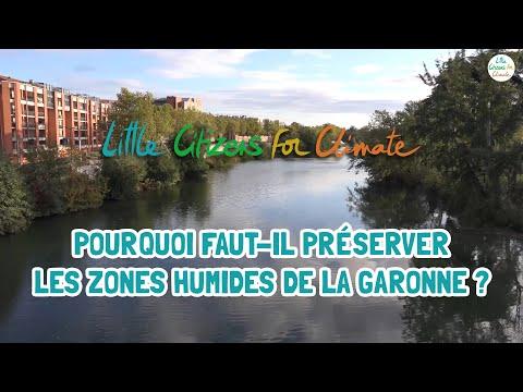 Pourquoi faut-il préserver les zones humides de la Garonne ? - Pénélope et Magali GÉRINO