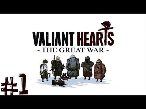 Valiant Hearts The Great War. Прохождение. Часть 1 (Первая Мировая Война)