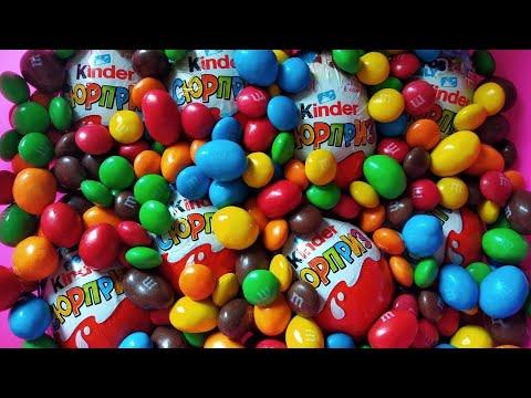 kinder-surprises-at-m-&-m's,disney-princess,batman-the-happos-family,