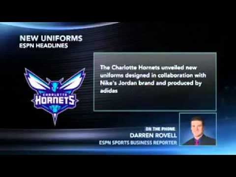 Charlotte Hornets Reveal New Uniforms - YouTube 0e1ca4b29