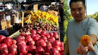 Đi chợ trời mua trái cây ( Người Việt ở Mỹ )