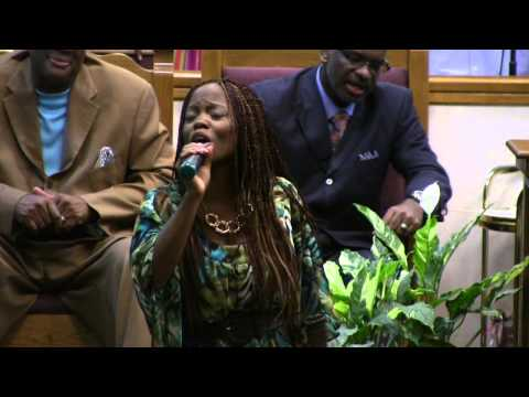 Sierra Berry Singing at Tabernacle COGIC Youth Revival 2013