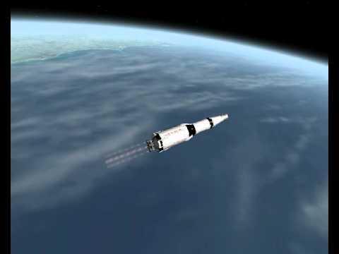 Apollo 12 Launch - CSM Onboard Audio