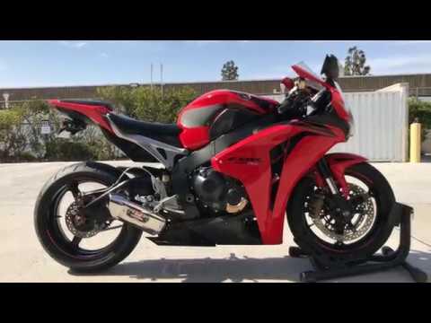 2009 Honda CBR1000RR / Yoshimura Exhaust Sound Clip / Walk Around