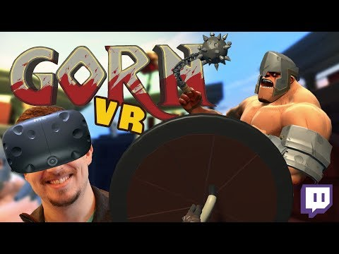 GORN & Richie's Plank Experiance - SCREAMING IN VR! (HTC Vive Gameplay)