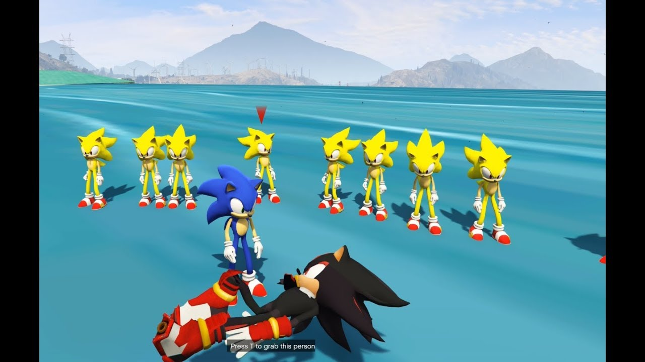 GTA 5 – Đại chiến Sonic Xoay chuyển càn khôn | GHTG 4K