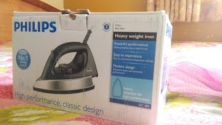 Unboxing PHILIPS Heavy Weight iron