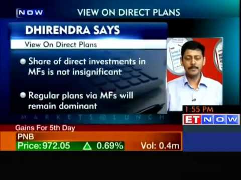 Dhirendra Kumar's view on direct plans